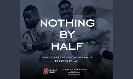Charles Tyrwhitt named as England Rugby official formalwear partner