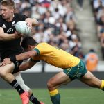 'After yesterday's performance, Jack has really taken control of that 12 jersey': Kiwi stars say Goodhue will be the anchor of the All Blacks midfield