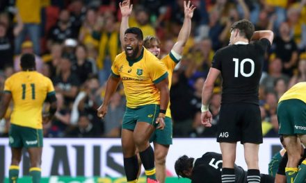 Shock at Suncorp: Wallabies stun All Blacks to claim famous win in heated Bledisloe Cup dead rubber