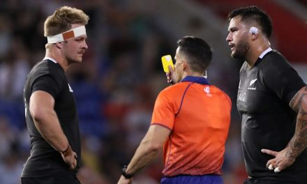 'A straight red, no question' – Controversial high shot from prop Lomax overshadows the dominance of the All Blacks scrum