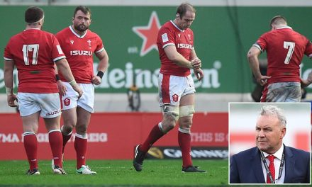 Wayne Pivac backed by Welsh Rugby Union chief executive Steve Phillips despite five straight defeats | Daily Mail Online