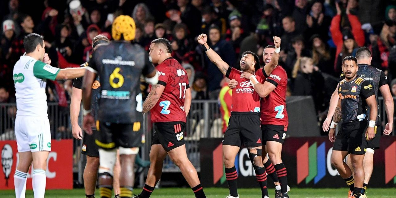Super Rugby: Crusaders topple the Chiefs to bag fifth straight crown | Stuff.co.nz