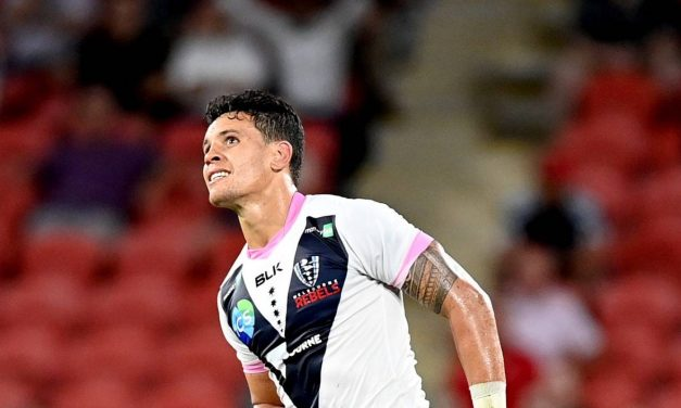 Super Rugby AU: Reds hang on to beat Rebels after red card, Matt Toomua's missed penalty goal | Stuff.co.nz