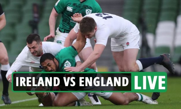 Ireland 3-3 England rugby LIVE SCORE: Stream free, TV channel, teams – Six Nations latest updates from Dublin