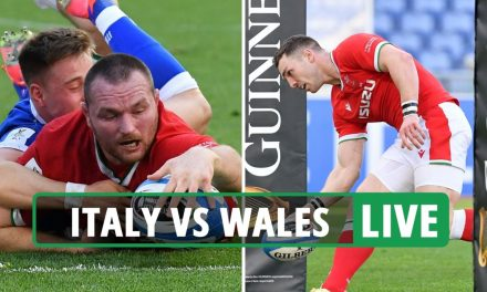 Italy vs Wales rugby LIVE SCORE: Latest updates from Six Nations match in Rome
